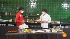 Sainz y Jordi Cruz F1 y cocina