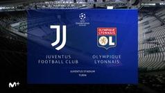 Champions League (octavos, vuelta): Resumen y goles del Juventus 2-1 Olympique de Lyon