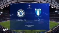Champions League (Jornada 3): Resumen y goles del Chelsea 4-0 Malmoe