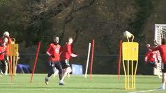 Gareth Bale sí se entrena con Gales con total normalidad