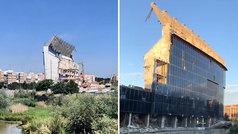 Esto es todo lo que queda en pie del Vicente Calderón: la demolición está casi terminada