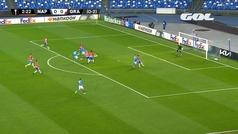 Gol de Zielinski (1-0) en el Nápoles 2-1 Granada