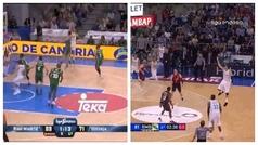 Doncic cumple 22 años y la ACB le felicita con su primera y última canasta ¡y ambas tienen magia!