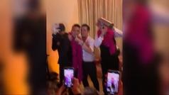 La gran fiesta de cumpleaños de Wanda Nara junto a Mauro Icardi... con karaoke