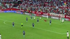 Gol de Ben Yedder (2-0) en el Sevilla 2-1 Celta
