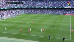 J20 Betis 3-Girona 2. Gol 1-1 Aleix García