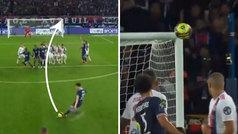 Messi rozó uno de los mejores goles de falta de su carrera: ¡la escuadra aún está temblando!