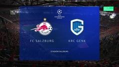 Champions League (Grupo E): Resumen y goles del Salzburgo 6-2 Genk
