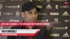 Rafa Márquez lo apuesta todo para ser entrenador