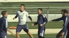 Messi continúa con los entrenamientos en Valdebebas