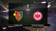 Europa League (octavos, vuelta): Resumen y goles del Basilea 1-0 Eintracht