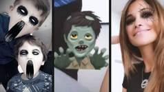 El Halloween más terrorífico de la familia Messi