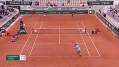 Rafa Nadal hace otro rosco a la historia y pasa a tercera ronda de Roland Garros