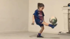 Arat Hosseini, el niño prodigio iraní, da 3.000 toques a un balón sin que se caiga al suelo