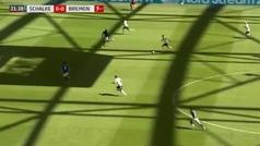 El zurdazo que resucita al Werder Bremen: así fue la maravilla de Bittencourt