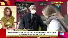 El padre de Rafael Amargo la lía con una reportera