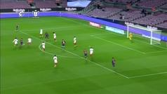 Gol de Dembélé (1-0) en el Barcelona 3-0 Sevilla