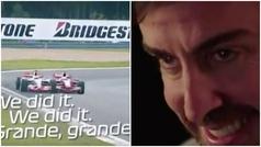 """La espectacular bienvenida que le da la F1 a Alonso: """"¡Vuelve!"""""""