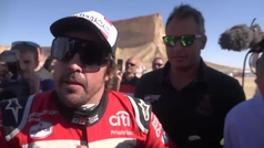 "Fernando Alonso: ""Si vuelvo al Dakar, será con idea de ganarlo"""