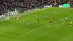Gol de Sané (2-1) en el Manchester City 2-1 Hoffenheim