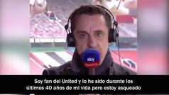 La defensa más romántica de Gary Neville al fútbol de siempre