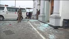Al menos 156 muertos y 400 heridos en un atentado múltiple con seis bombas en Sri Lanka