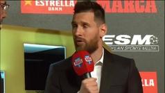 """Messi: """"Aunque nombremos mucho la Champions, en el Barça nunca olvidamos la Liga y la Copa"""""""