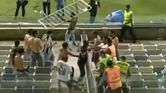 Brutal pelea entre aficiones en Brasil: Siete acusados de intento de homicidio