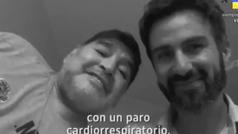 Filtran la llamada del médico de Maradona a emergencias