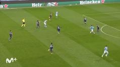 Gol de Mahrez (2-0) en el Manchester City 2-0 PSG