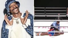 La épica reacción de Snoop Dogg al brutal KO de Nate Robinson: ¡era el comentarista...!