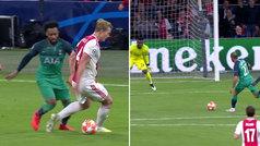 Gol de Lucas Moura (2-1) en el Ajax 2-2 Tottenham