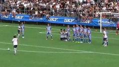 La falta más absurda del fútbol de verano en Europa