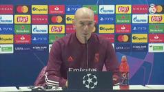 """Zidane: """"Nos merecemos las críticas del otro día, yo el primero"""""""