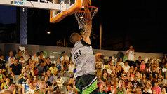Mates brutales y canastas imposibles: lo mejor del baloncesto callejero en Madrid