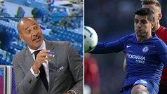 """Gullit atiza a Morata: """"¿Dónde está?, Hazard y Willian no se la pasan porque no confían en él"""""""