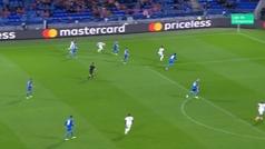 Gol de Ndombele (2-0) en el Lyon 2-2 Hoffenheim