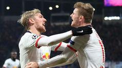 Champions League (Grupo G): Resumen y goles del RB Leipzig 2-2 Benfica
