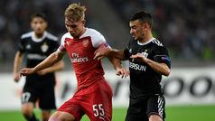 Europa League (J2): Resumen y goles del Qarabag 0-3 Arsenal