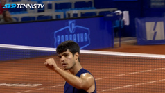 La salvajada de Carlos Alcaraz que explica la admiración del mundo del tenis por el joven español