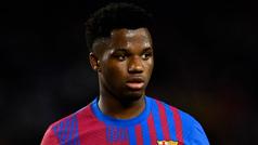 Oficial: El Barça renueva a Ansu Fati hasta 2027