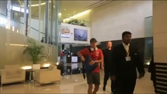 Ozil reaparece en Singapur tras abandonar la selección alemana por una polémica con Erdogan