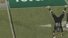 Protagoniza el desmarque más extraño de la historia del 'football'... y se vuelve invisible