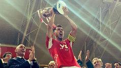 El Murcia conquista en los penaltis su primer título de la Copa RFEF