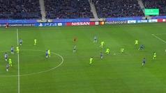 Gol de Marega (3-1) en el Oporto 3-1 Schalke