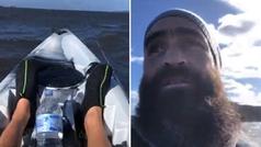 La entereza de un kayakista a la deriva minutos antes de su muerte