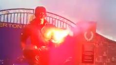 Indignación en Liverpool por el ataque a la estatua de Dixie Dean, leyenda del Everton
