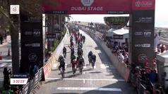 Así fue el triunfo de Bennett en la 6ª etapa del UAE Tour