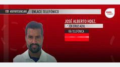 """José Alberto Hernández: """"Estoy muy ilusionado con este Cruz Azul"""""""