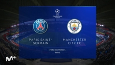 Champions League (ida semifinales): Resumen y goles del PSG 1-2 Manchester City